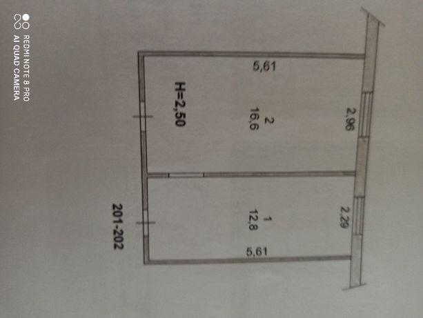 Продается 2 комнаты в общежитии на 44 квартале