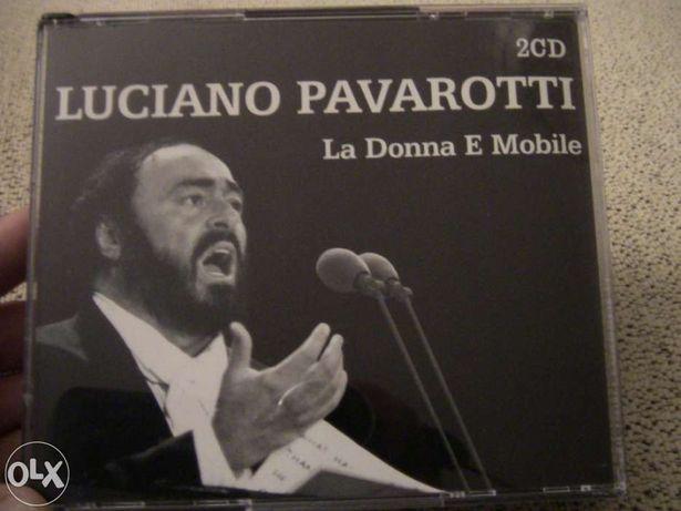Luciano pavarotti - la donna e mobile - duplo como novo