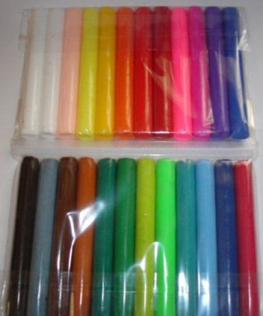 Набір полімерної глини 24 кольори / Набор полимерной глины 24 цвета