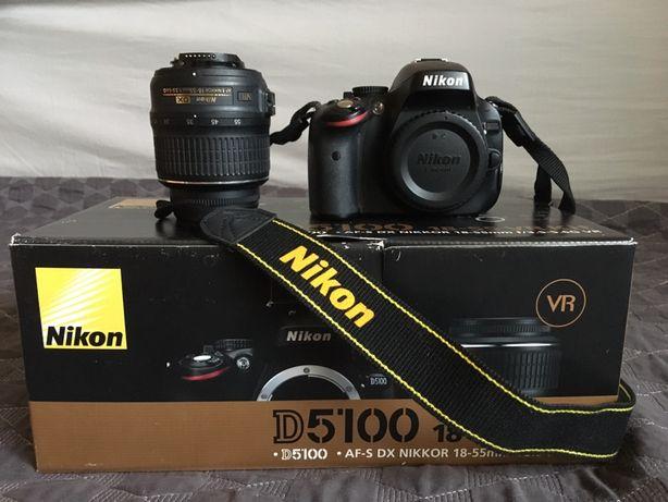 Lustrzanka Nikon D5100, niski przebieg 6 tys. zdjęć