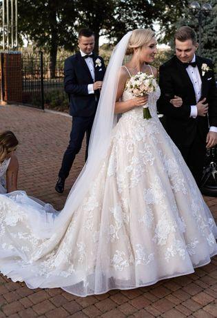 Piękna suknia ślubna  Mori Lee rozmiar 36/38