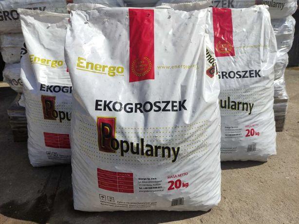 Ekogroszek Węgiel ENERGO POPULARNY! 24-26 MJ/KG Transport!