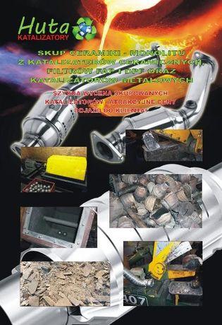 Skup katalizatorów , monolitu , HURT/DETAL - Rafinacja -HUTA