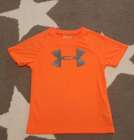 Pomarańczowa Koszulka bluzeczka Under Armour 4T 104cm