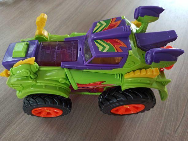 Samochód Super Zings pojazd Monster Roller