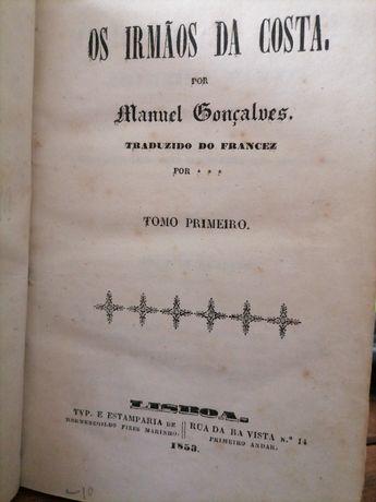 1853-Os Irmãos da Costa por Manuel Gonçalves