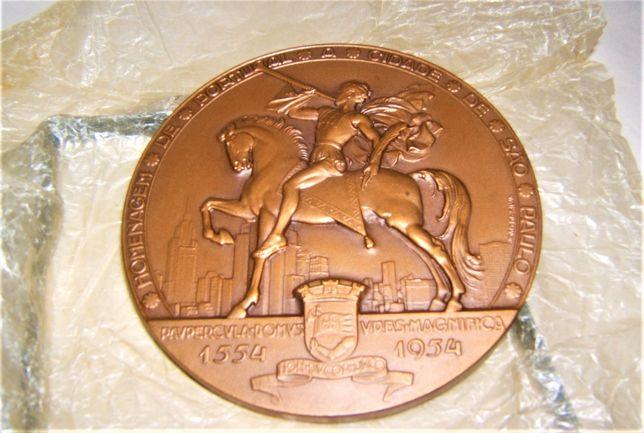Medalha - Homenagem de Portugal à Cidade São Paulo