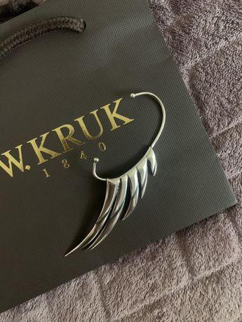 Srebrna nausznica W.KRUK Freedom by Martyna Wojciechowska