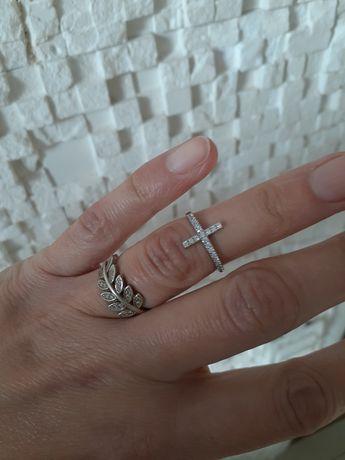 Кольцо серебряное украина