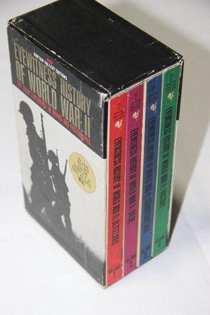 Eyewitness History of World War II - 4 volumes - 1962