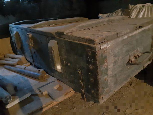 Ящик деревянный военный под инструмент