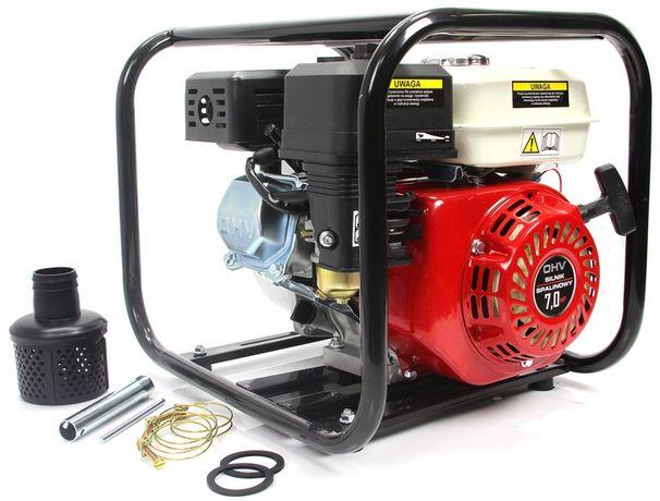 "Pompa spalinowa do wody 3"" 48000l/h 7HP Motopompa"