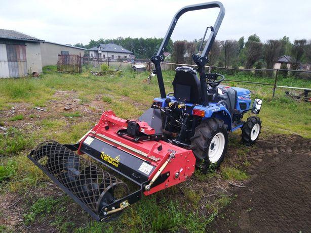 Usługi glebogryzarką separacyjną przygotowanie ziemi pod trawnik ogród