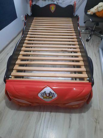 łóżko dziecięce 3d samochód ,światła led ,dywan dzieciecy gratis