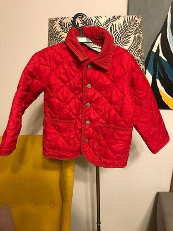 Czerwona kurtka pikowana czerwona