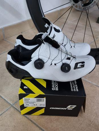 Sapatos ciclismo Gaerne Stilo 44 brancos