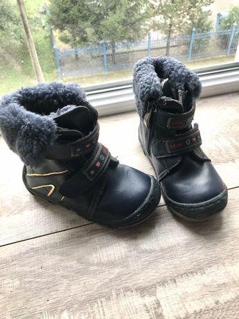 Зимние ботинки сапожки 15см 25р