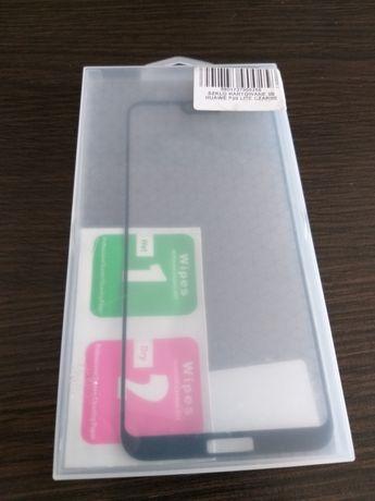 Szkło hartowane 3D Huawei P20 Lite czarne