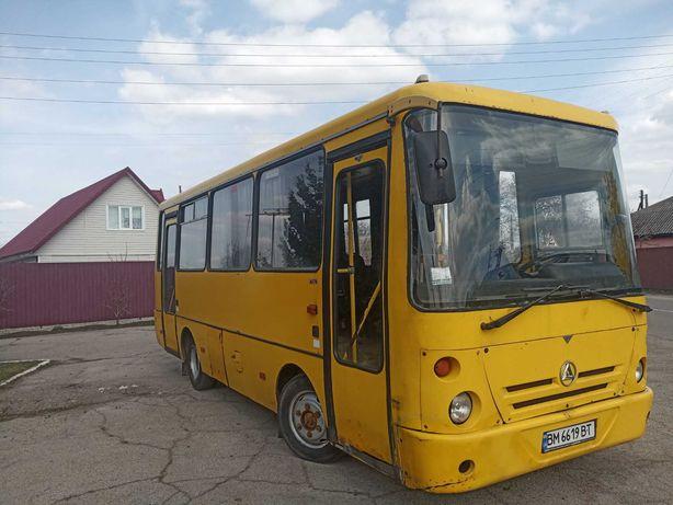 Автобус Маршрутка БАЗ А074