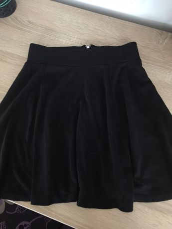 XS Spódnica czarna H&M