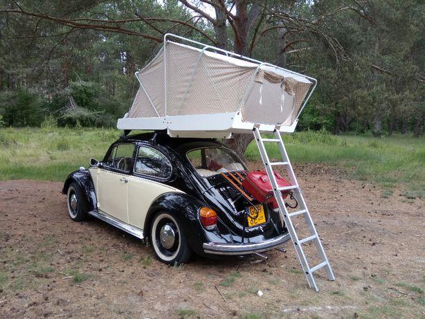 namiot dachowy (na garbus, klasyk, vw, PRL, retro)