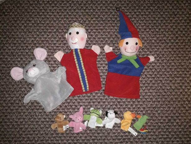 Театр на руку ляльковий пальчиковий кукольный театр король мышка