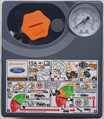 Аварийный комплект для ремонта шин(компрессор на 180w и герметик450мл)