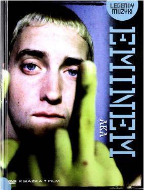 Legendy Muzyki: Eminem AKA [DVD] FILM + KSIĄŻKA
