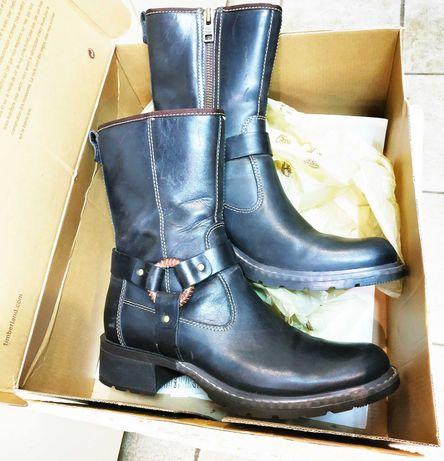 Американские прошитые кожаные ботинки «Timberland»!