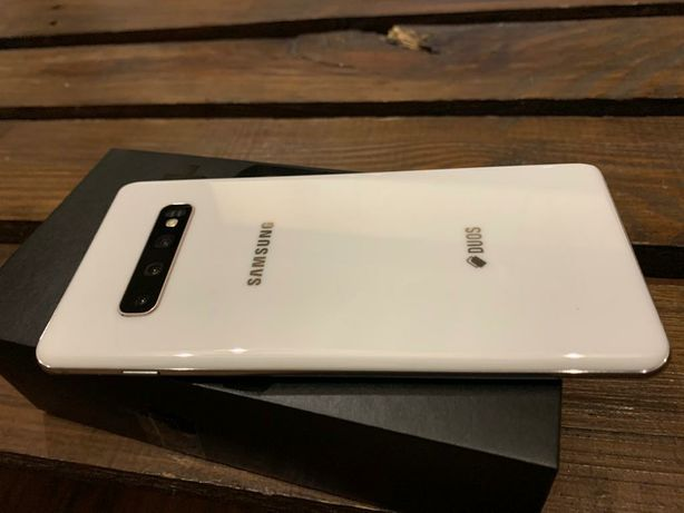 Samsung galaxy s10 plus + ceramic white bez simlocka