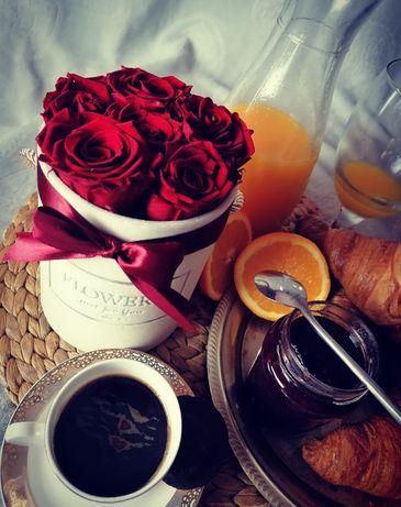 Wieczne róże, flower box
