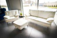 Sofa kanapa Cecil naturalna prawdziwa skóra, dostępna od ręki!