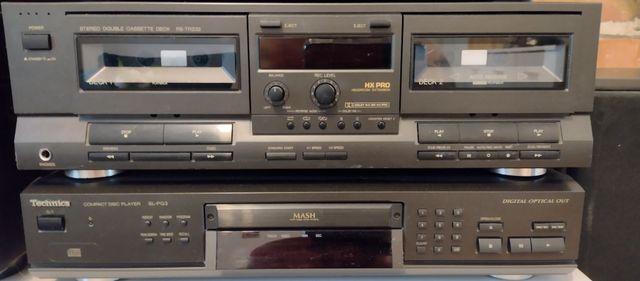 Magnetofon  oraz CD Technics sprzedam