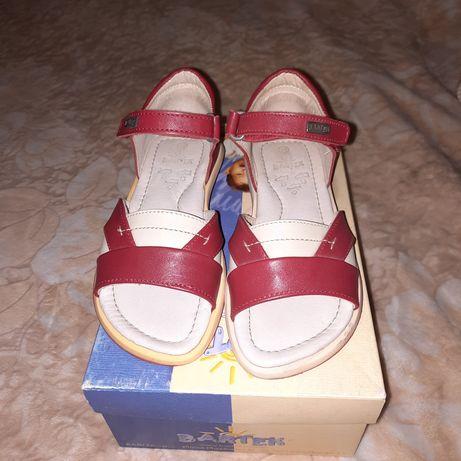 Sandały dla dziewczynki roz.27