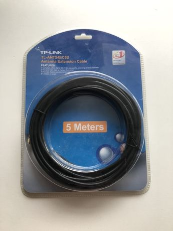 TP-LINK TL-ANT24EC5S Antenna Extension Cable – 5 meters