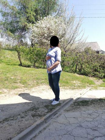 Elegancka koszula/bluzka ciążowa r.38