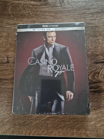 Casino Royale 4k UHD Steelbook PL