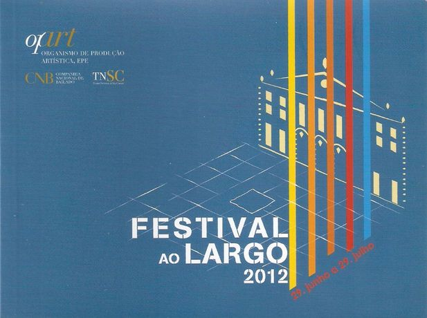 Festival Ao Largo 2012 - Livro Catálogo/Programa