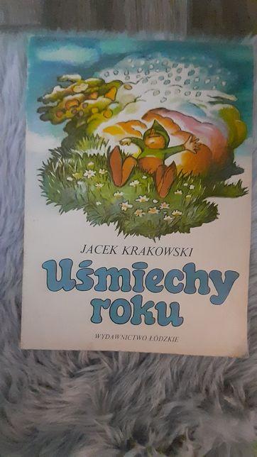 Uśmiechy roku   książka dla dzieci