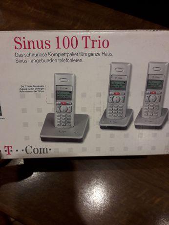 telefon przenośny Sinus 100 Trio T-Com zestaw 3 sztuki