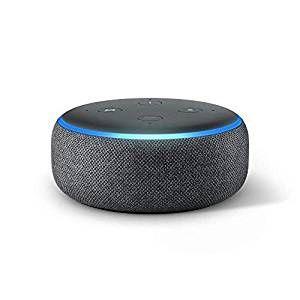 NOVO Amazon Alexa Echo Dot (3ª Geração) selado. Com Garantia!