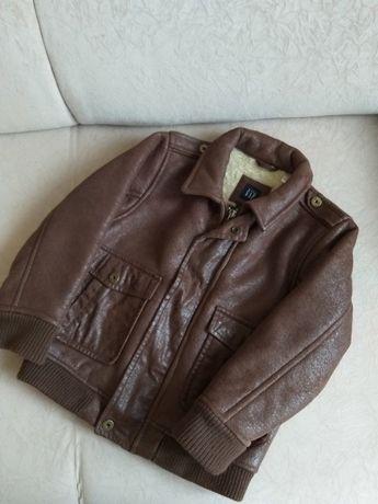 Детская куртка бомбер Gap 5-6 лет 116 см деми/зима