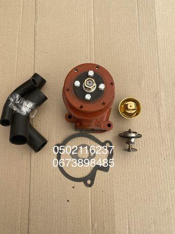 Насос водяной (помпа) МТЗ, Патрубки радиатора, Термостат