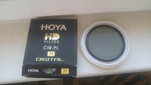 Hoya hd filter cir-pl 77