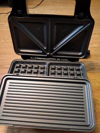 Opiekacz 3 w 1 (grill, gofrownica) na gwarancji