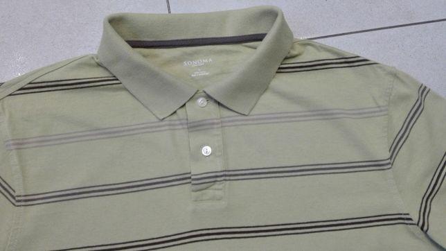SONOMA - NOWA!!! Markowa Męska Koszulka Polo rozmiar L