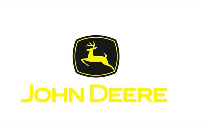John Deere naklejka traktor ciągnik WZÓR 031