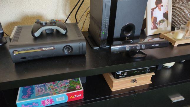 [VENDO ou TROCO] Xbox 360 com Kinect RGH 2 comandos