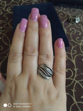 Срібло кольцо 17.5