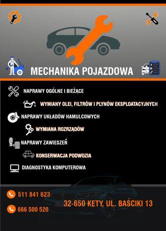 Mechanika Pojazdowa Wulkanizacja - Kęty